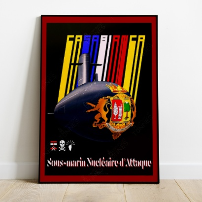 Affiche Poster SNA Casabianca