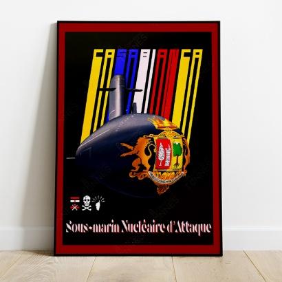 Poster SSN Casabianca