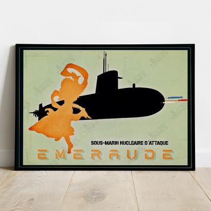 Poster SSN Emeraude