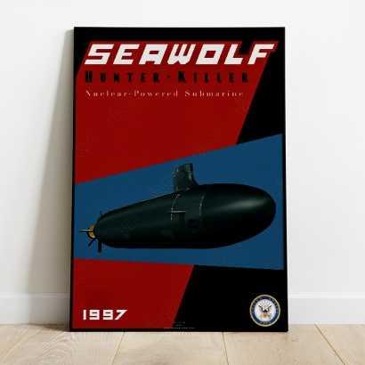 Poster Submarine Seawolf class
