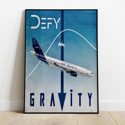 Poster Airbus A310 Air Zero G