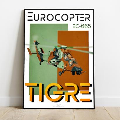 Affiche Poster Eurocopter Tigre