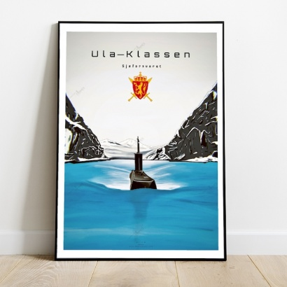 Affiche poster sous-marin Classe Ula