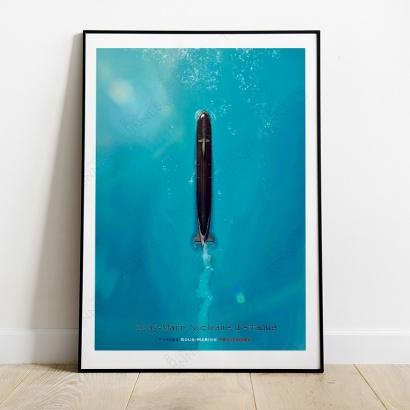 Affiche Poster S.N.A Océan Pacifique